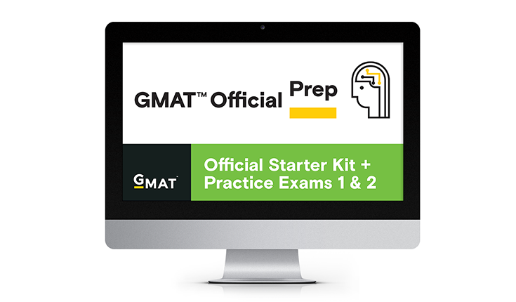 GMAT Official Starter Kit + Practice Exams 1 & 2 (Free