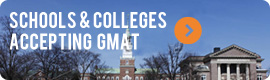 GMAT Accepting Programs