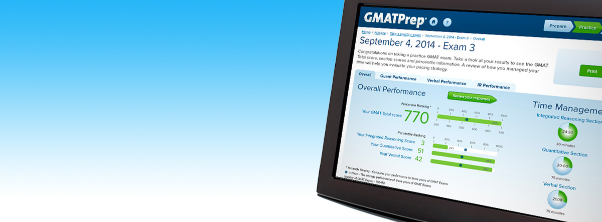 GMATPrep Exam Pack 1 Promo