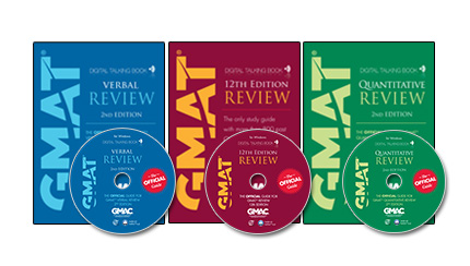 The Official Guide for GMAT® Review Series, Digital Talking Books
