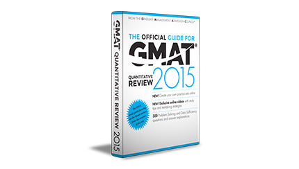 The Official Guide for GMAT® Quantitative Review, 2015