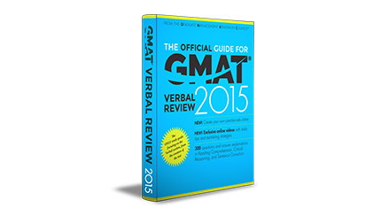 The Official Guide for  GMAT® Verbal Review, 2015