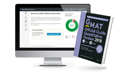 GMAT® Official Guide Quantitative Review 2018: Book + Online