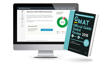 GMAT® Official Guide Verbal Review 2018: Book + Online