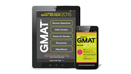 The Official Guide for GMAT® Review 2015 Mobile App