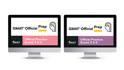 GMAT Official Practice Exams 3 to 6