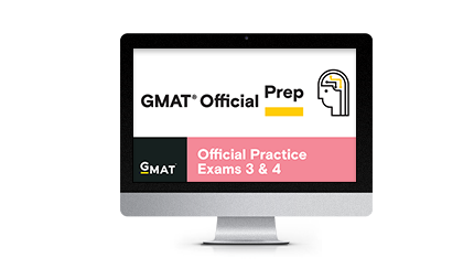 GMAT Official Practice Exams 3 & 4