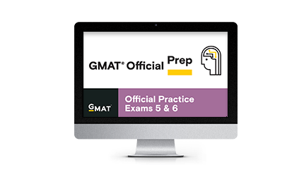 GMAT Official Practice Exams 5 & 6