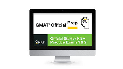 GMAT Official Starter Kit + Practice Exams 1 & 2 (Free)
