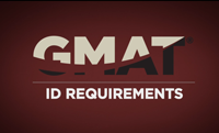 GMAT ID Requirements